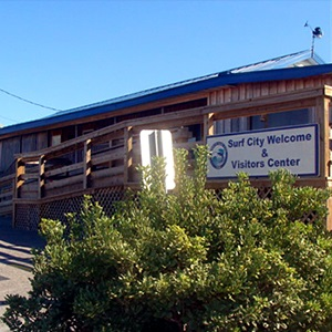 Surf City's Welcome  Visitor Center