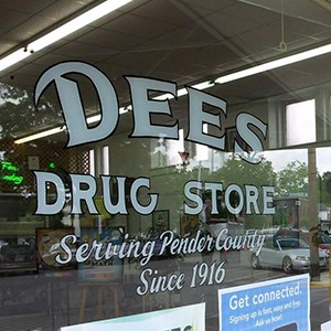 Dees Drug Store  Grill