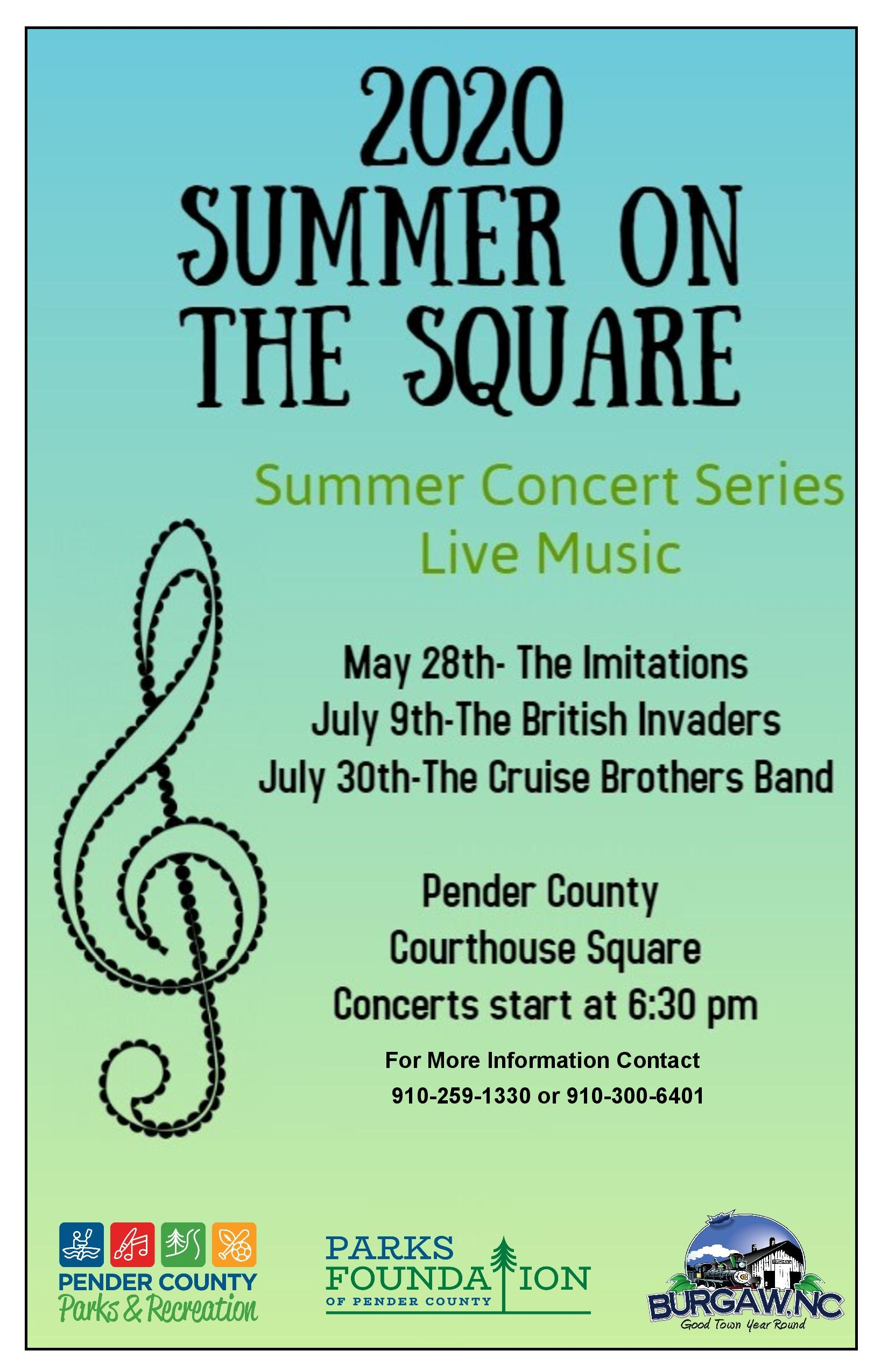 2020 Summer On The Square