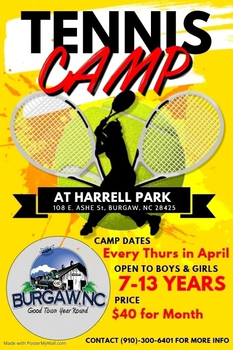Youth Tennis Camp