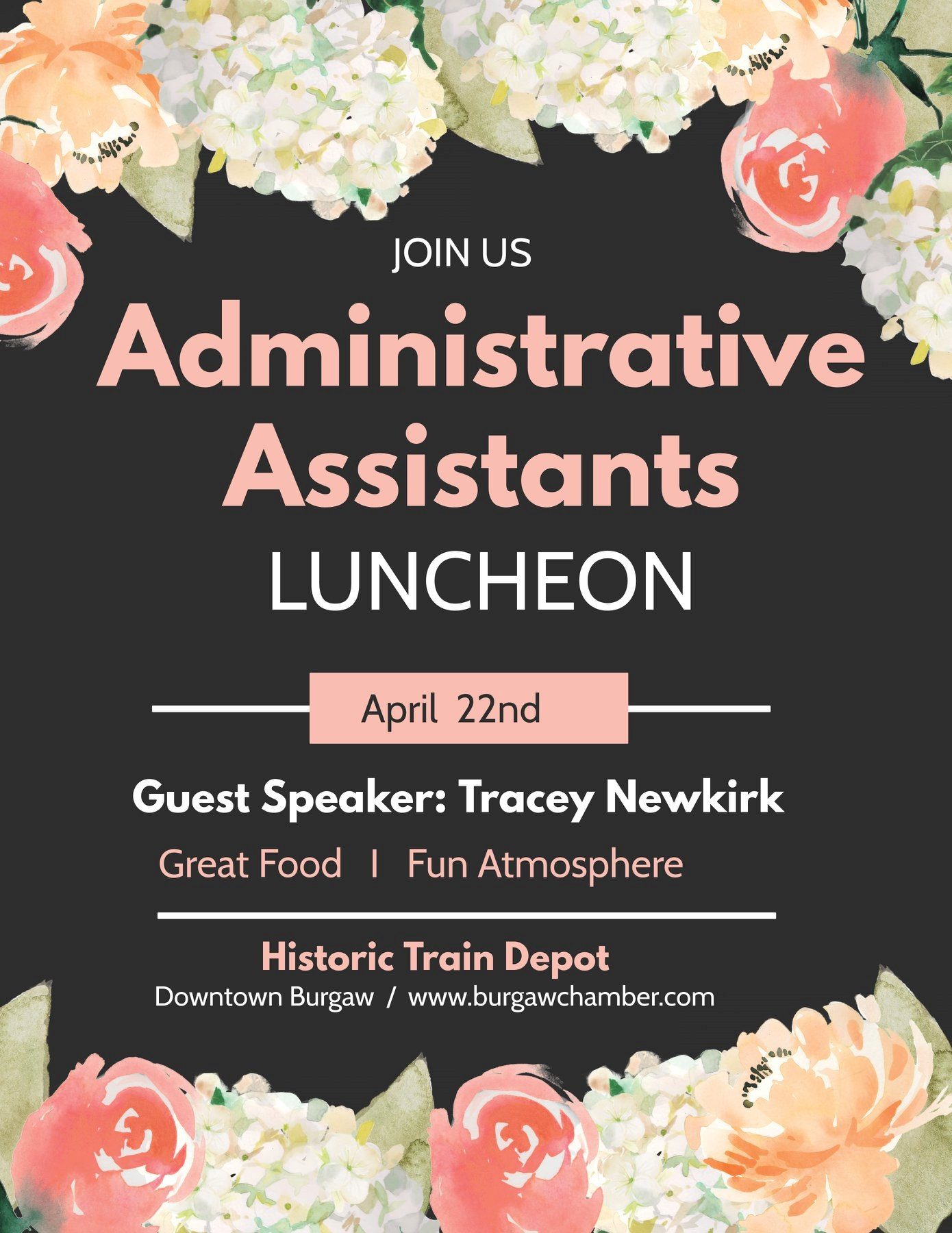 Administrative Assistants Luncheon