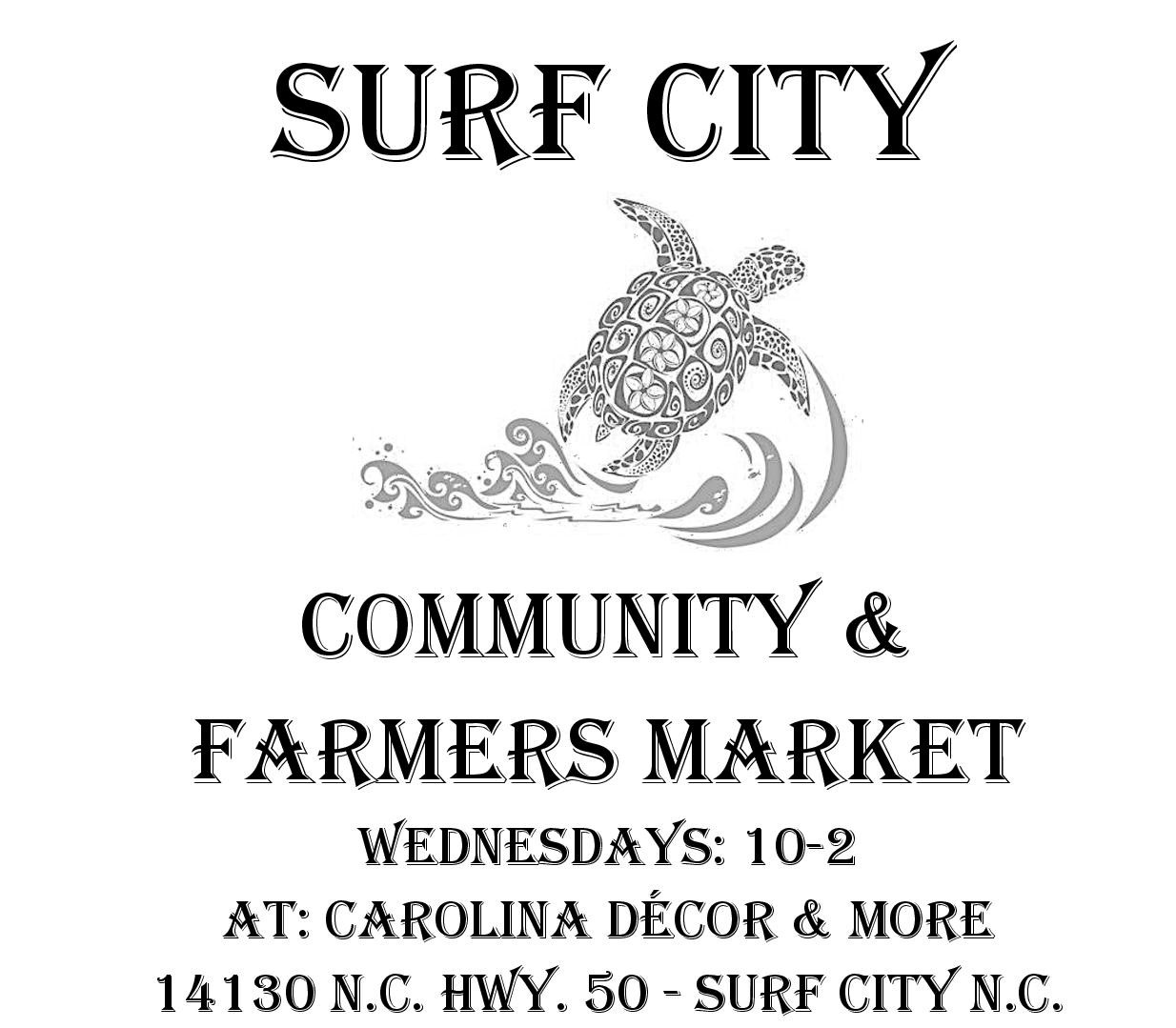 Surf City Community Farmers market