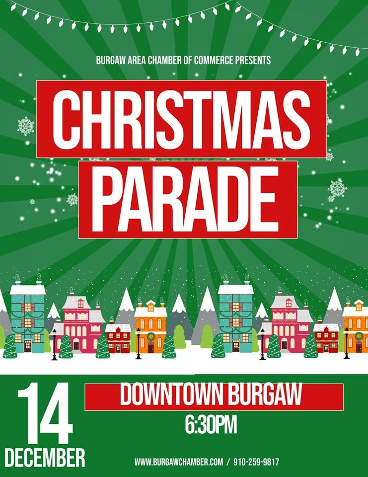 The Bugrgaw Lighted Christmas Parade