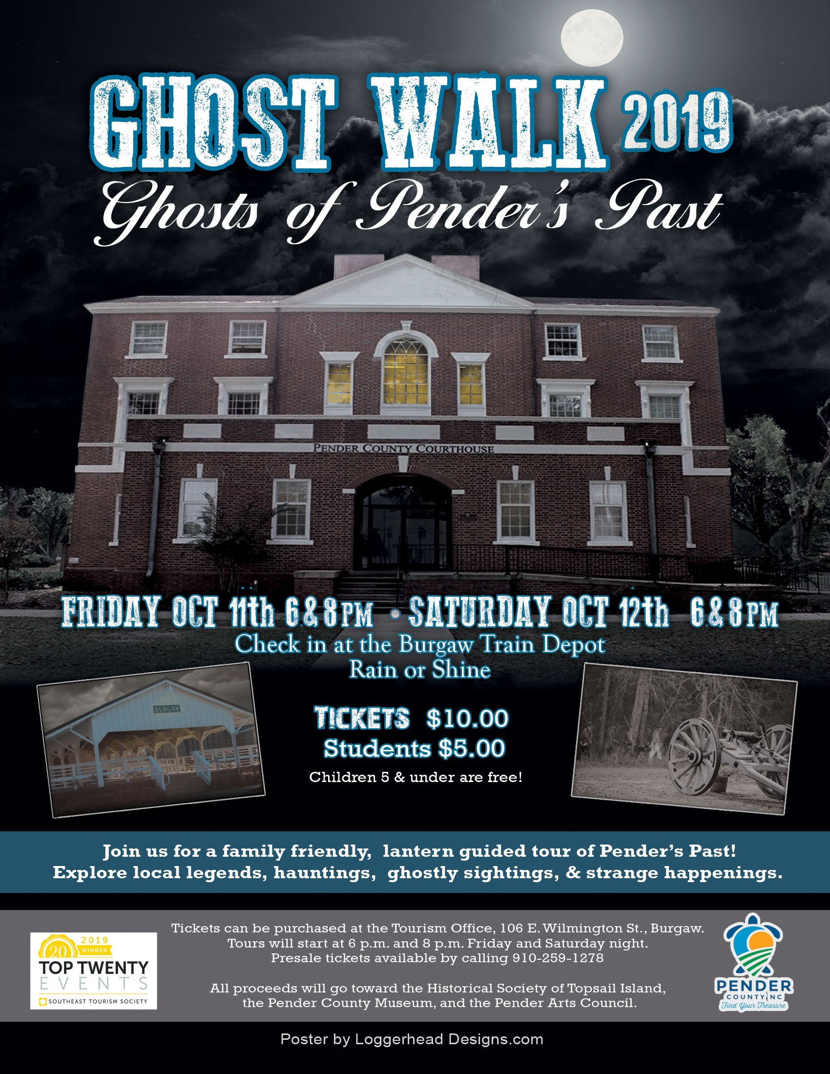 Ghost Walk of Pender's Past