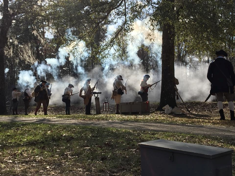 The 243rd Anniversary of the Battle of Moore's Creek Bridge Reenactment