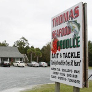 Thomas Seafood, Produce, Bait  Tackle